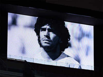 Football-crazy Kerala remembers Maradona