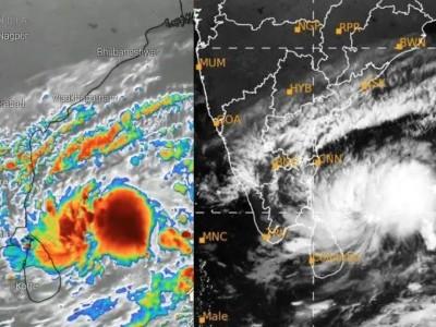 """طوفان """"نیوار""""کا اثر، تمل ناڈو میں موسلا دھار بارش، تملناڈوکے 13 اضلاع میں جمعرات کو عام تعطیل-چینئی سے 12 پروازیں منسوخ"""