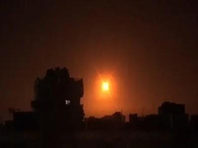 شام میں اسرائیلی بمباری میں حزب اللہ کے لیے ایران سے آئی رقوم کے ٹرکوں کو نشانہ بنایا گیا