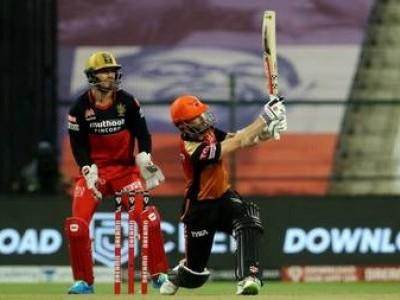 آئی پی ایل 2020 ایلیمنیٹر: حیدر آباد نے بنگلورو کو کیا باہر، دلچسپ مقابلہ میں 6 وکٹ سے جیت