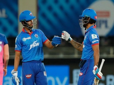 IPL 13: Dhawan, Iyer hit half-centuries as DC defeat RR by 13 runs