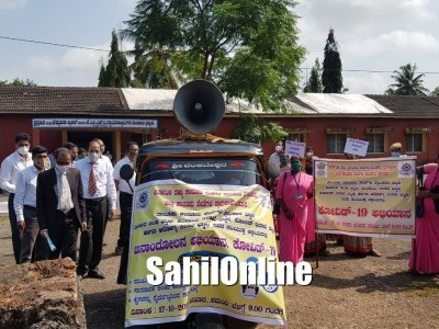 Jan Andolan Campaign on COVID-19 held in Bhatkal
