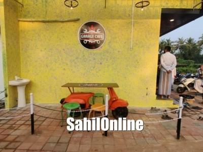 A unique cafeteria 'Garage Cafe' opens in Azad Nagar, Bhatkal