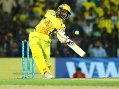 Jadeja's blitzkrieg help CSK spoil KKR's party, send MI into IPL play-offs