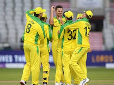 Hazlewood stars as Australia beat England by 19 runs in ODI