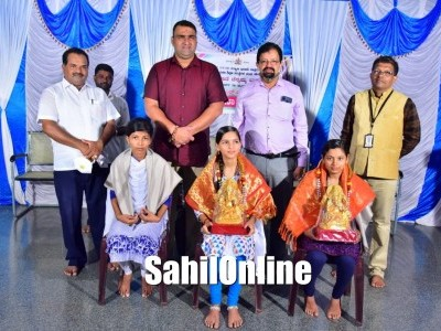 Kitturu Rani Chennamma Residential School celebrate success in SSLC, felicitate toppers