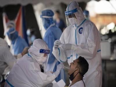 ملک میں کورونا کے پھر 93337 نئے کیسز، ابتک 85 ہزار سے زائد ہلاکتیں