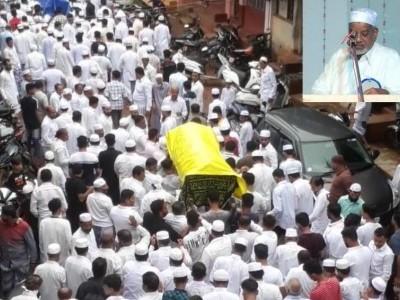 منکی جماعت المسلمین کے سابق سکریٹری اور معروف شخصیت ساوڑا مولیٰ انتقال کرگئے