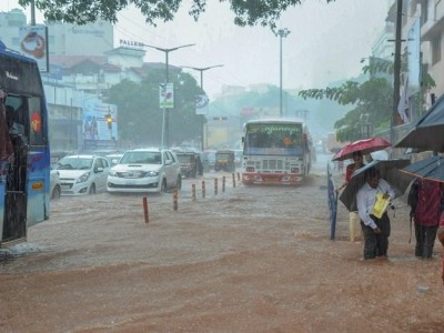 موسلادھار بارش کے سبب بنگلورو کا نظام درہم برہم
