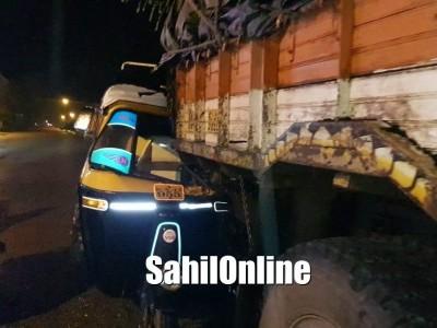 بھٹکل میں دو مختلف سڑک حادثات؛ بائک اور کار کی ٹکر میں دو زخمی، آٹو رکشہ اور لاری کی ٹکر میں ایک زخمی