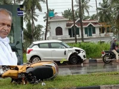 کنداپور کے قریب ناوندہ ہائی وے پر کار کی ٹکر سے بائک سوار جاں بحق
