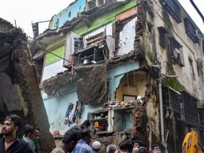 ممبئی: بھیونڈی میں عمارت منہدم؛ 10 ہلاک،31 کو بچا لیا گیا