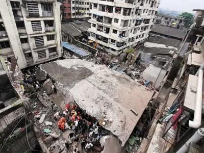 بھیونڈی تین منزلہ بلڈنگ انہدام: ہلاک شدگان کی تعداد 33 ہوئی، 25 افراد کو محفوظ نکالا گیا