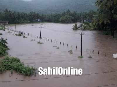 Heavy rains continue striking Uttara Kannada, low-lying areas asked to be vigilant