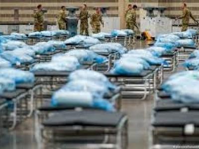 امریکہ میں کورونا: اموات کی تعداد دو لاکھ سے تجاوز، 68 لاکھ سے زیادہ افراد متاثر