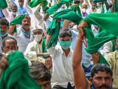 زرعی بل کی مخالفت میں کسان تنظیموں کا ملک بھر میں احتجاج؛ کیا اس بل کے خلاف جمعہ کو کرناٹکا بند ہوگا ؟