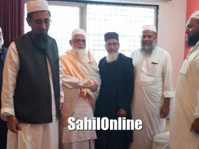 President of Jamia Islamia Bhatkal felicitated in Bengaluru