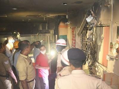 منگلورو: بینک آف بروڈا آفس میں آتشزدگی؛ بھاری نقصان
