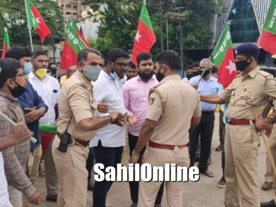 Mangalore: SDPI leaders detained for protesting clean chit to Babri Masjid demolition accused