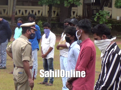 Mangaluru: City Police parade drug peddlers; warns of stringent action