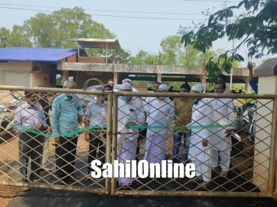 New roads inaugurated in Anjuman campus in Bhatkal