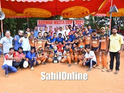 Media Cup 2021 Karwar Warriors emerge as champions, Bhatkal Media Warriors settle with runner-up