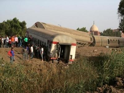 مصرمیں ٹرین حادثہ،11افرادجاں بحق، 100زخمی