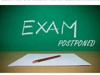 KUD postpones exam again