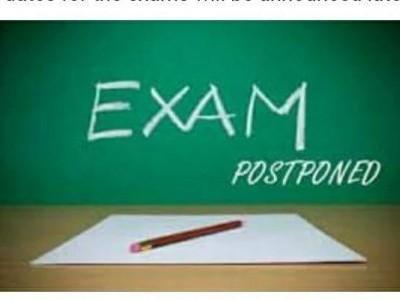 KUD postpones exam again