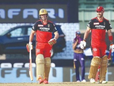 IPL 2021: De Villiers, Maxwell fire RCB to 38-run win against KKR