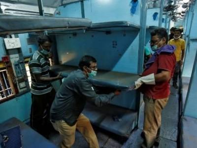 کورونا بحران: دہلی حکومت نے کی ریلوے سے اپیل، 5 ہزار کووڈ کوچ مہیا کرائے