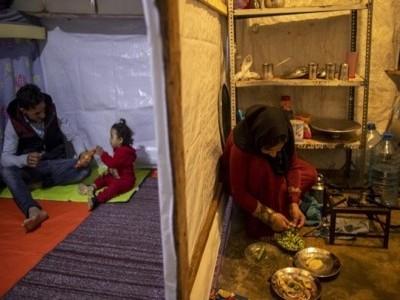 شامی مہاجرین کو سحر و افطار کی تیاری میں مشکلات