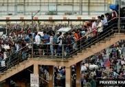 دہلی-این سی آر میں مہاجر مزدور پھر نکلے سڑکوں پر، پہلے 'لاک ڈاؤن' کی آئی یاد