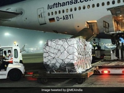 COVID-19: UAE sends medical supplies, including 157 ventilators, to India