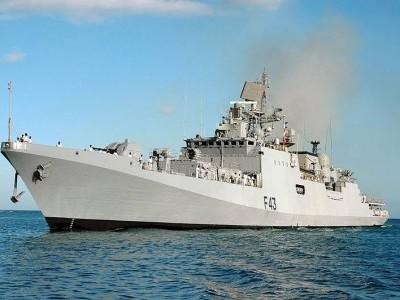 Indian Navy ship visits Saudi Arabia