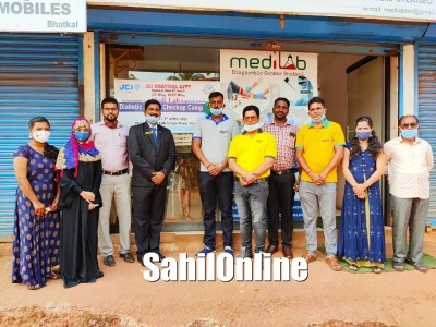 JCI Bhatkal City & Medilab jointly organize Diabetic Health Checkup Camp