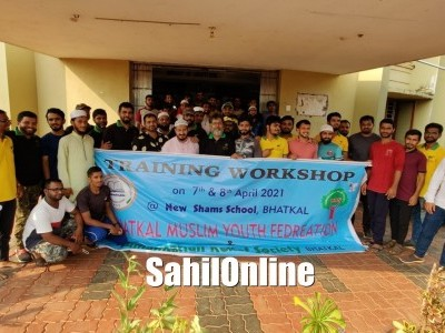 BMYF & HRS organize 'Emergency Training Workshop For Youth' in Bhatkal