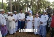 بھٹکل: قاضی جماعت المسلمین   مولانا عبدالرب ندوی کے ہاتھوں مدینہ کالونی منیٰ روڈ پر مسجد صحابہ  کا سنگ بنیاد