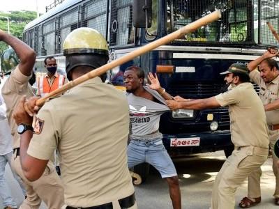 افریقی باشندوں پر لاٹھی چارج کا معاملہ:بنگلورو شہر کی پولیس نے صحیح کارروائی کی:  بسواراج بومئی