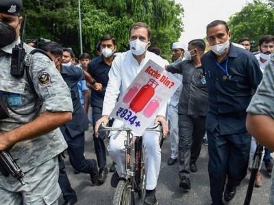 راہل گاندھی کی 'ناشتہ پارٹی' کے بعد کانگریس نے کہا 'یہ آنے والے 2024 کی تصویر ہے'