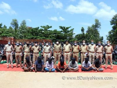 Andhra police held interstate robbery gang, seized 107 two-wheelers