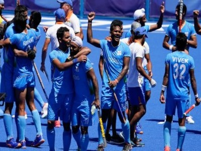 Indian men's hockey team scripts Olympic history, ends 41-year medal drought with thrilling win over Germany
