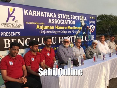 Selection Trails camp organised at Anjuman Ground Bhatkal by BIFA