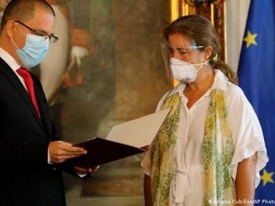 وینزویلا نے یورپی یونین کے سفیر کو بے دخل کر دیا