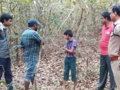 یلاپور کی لاپتہ طالبہ رات جنگل میں درخت سےبندھی ہوئی حالت میں پائی گئی : پولس کی جانچ میں تیزی