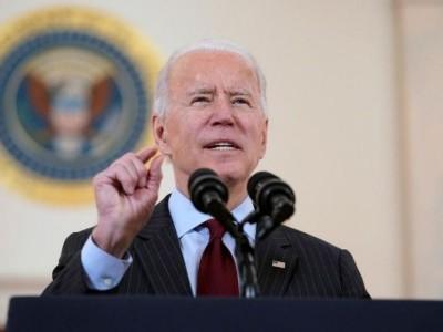 بائیڈن کا امریکی فضائی حملوں کے بعدایران کومحتاط رہنے کا انتباہ