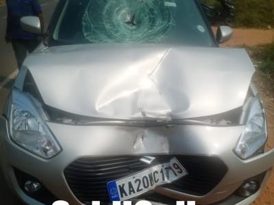 کنداپور: امباگل میں پیش آیا کار اور بائک میں تصادم ۔ 45 سالہ بائک سوار ہلاک