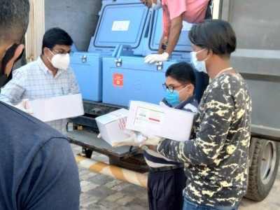 First batch of Covid-19 vaccines arrive in Mangaluru