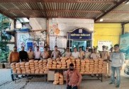 345 kg ganja seized, one held in Mumbai