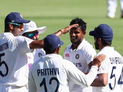 Fourth Test: Debutant Natarajan shines as Australia score 274/5 courtesy Labuschagne ton